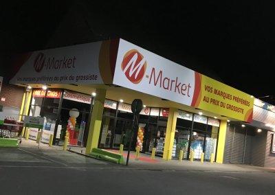 Enseigne M-Market