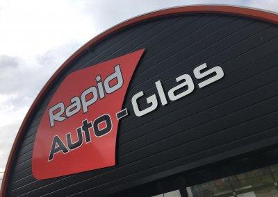 Enseigne Rapid Auto-Glas