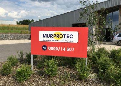 Panneau extérieur structure acier Murprotec